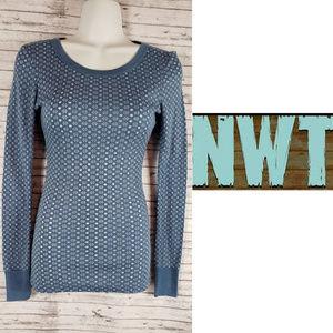 Next Era Long Sleeve scoop Neck Shirt Sz S NWT